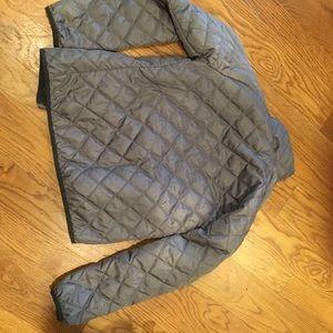 North Face gray jacket small